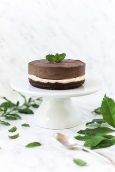 Raw Choc Mint Cake - Real Food Pledge.