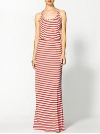 Michael Stars Exclusive Blouson Stripe Maxi Dress