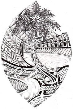 Guam Tribal Seal #samoantattoos