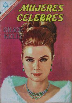 Princess Grace in a Mexican comic book, 1966.