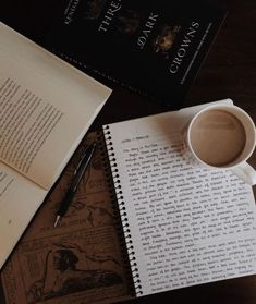 does anyone else have an addiction to notebooks as well as books? i bought a notebook yesterday with the coolest inside cover… The Secret History, Coffee And Books, Brown Aesthetic, Study Inspiration, Studyblr, Study Notes, Study Motivation, Memento Mori, Book Photography