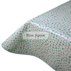Amazing Mint Pebbles PVC Tablecloth