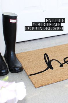 Need some ideas to spruce up your home? We have some ideas for you that won't break the bank!