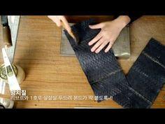 #4-2 뱀피를 이어보자 _파이톤 클러치 만들기 _python clutch bag A to G _leather craft