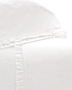 H4LU2 Pine Cone Hill Twin 200TC Classic Ruffle Sheet Set