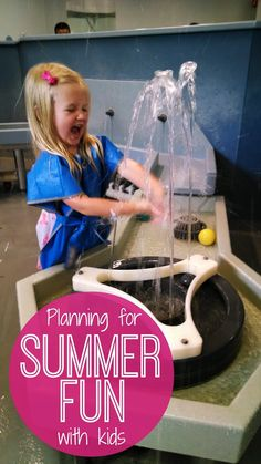 Toddler Approved!: Planning for Summer Fun with Kids
