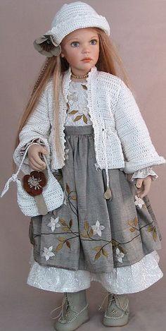 I love these dolls. Doll by Zawieruszynski