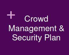 event crowd management plan