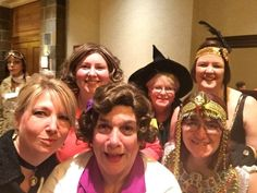 Clubwomen at the Great Lakes Region Banquet/Halloween Party.