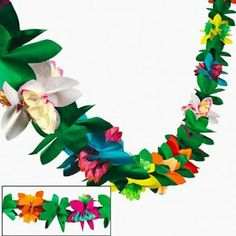 Amazon.com: Tissue Flower Garland: Toys & Games $5.00