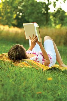 Go outside...take a book....make your own story....
