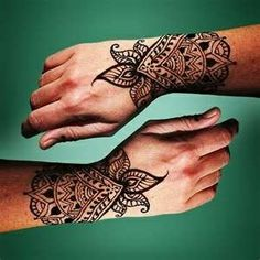 Henna Tattoo Design