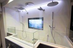 Shower display at #cphartmanchester