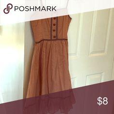 Super cute sun dress. Like new Mauve and grey sundress tara jarmon Dresses