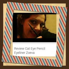 "Nuova #videoreview sul mio canale #youtuber    ""Review Cat Eye Pencil Eyeliner Zoeva ""   #makeup #instamakeup #cosmetic #cosmetics  #fashion #eyeliner  #beauty #makeupreview #eyemakeup #zoeva #beautyoftheday #videomaker #eyemakeupreview"