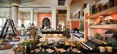 Friday buffet at Al Qasr.