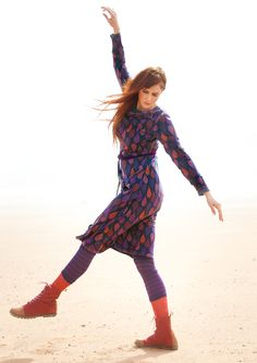 """""""Amelie"""" dress in lyocell & cotton – Skirts & dresses – GUDRUN SJÖDÉN – Webshop, mail order and boutiques   Colourful clothes and home textiles in natural materials."""