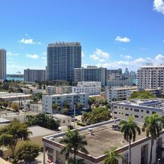 Beautiful Sunday morning on Miami Beach // @ronenrentalmiami