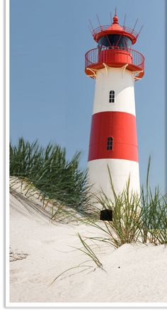 I can almost  feel the warm sun and the color is beautiful on the lighthouse...