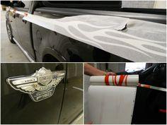 Harley Davidson Truck graphics   12-Point SignWorks