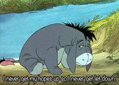 disney, eeyore, sad, winnie the pooh