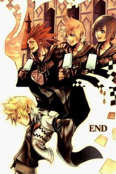 358/2. One of the best stories in the series, by far. Xion gets to much hate.