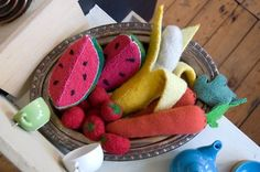 felted toy food