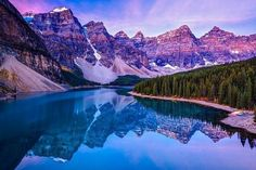 Озеро Морейн. Канада