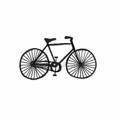 Download - Bycicle. Doodle bike on the white background. Sport, recreation, vintage style. Vector illustration. — Stock Illustration #71196429