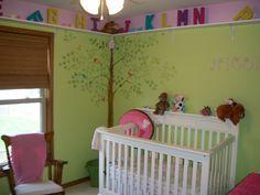 Baby girls bedroom - McKenna