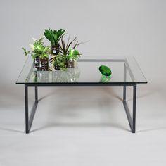 Betonggruvan - Soffbord i glas