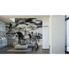 Photo murale Le pont Charle - Papier peint XXL Digital - Architects Paper…