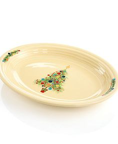 Fiesta Dinnerware Christmas Tree Oval Platter - Casual Dinnerware - Dining \u0026 Entertaining  sc 1 st  Pinterest & Fiesta Christmas Tree Collection - Christmas Dining - For The Home ...