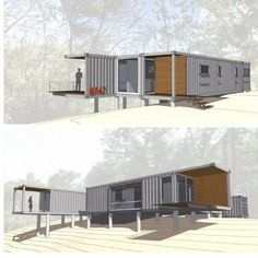 8747 SHIPPING CONTAINER HOUSE #ContainerHomeDesigns