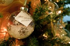 THIS is cute too! For everyone's Christmas tree. Well, if it was before Christmas, but it's still a cute idea :)