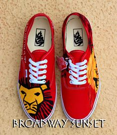 Hey, I found this really awesome Etsy listing at https://www.etsy.com/listing/202668860/lion-king-shoes