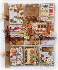 Jenine's Card Ideas: Pocket Letter Autumn Woods