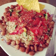 Chickpea dish