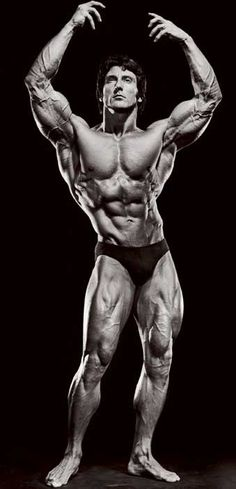Frank Zane...training partner to ARNOLD and an original American BA...