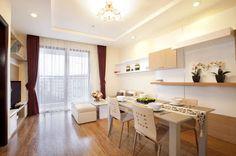 Thiết kế nội thất đẹp: Cái tạo và thiết kế nội thất chung cư nhỏ dưới 70m2