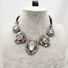 Wiipu Delicate Fashion Crystal Collar Bib Choker Necklaces Fashion pendant Women Jewelry(C502) wiipujewelry,http://www.amazon.com/dp/B00E7Q1HNM/ref=cm_sw_r_pi_dp_qtFOsb19M6BW31RP