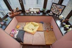 Уютное место на балконе