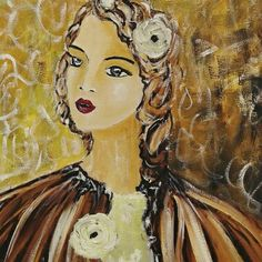 Oil Paintings, Disney Characters, Fictional Characters, Disney Princess, Art, Art Background, Kunst, Oil On Canvas, Performing Arts