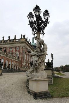 New Palace in Park Sanssouci, #Germany #park #beautifulplaces
