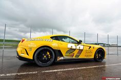 Photo Of The Day: Ferrari 599 GTO in Giallo