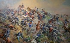 The Indians surround the hill and begin to systematically kill every soldier on the hill. Custers body is found on Last Stand Hill with many of his men.