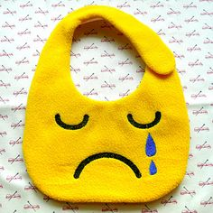 Crying Monster Baby Bib