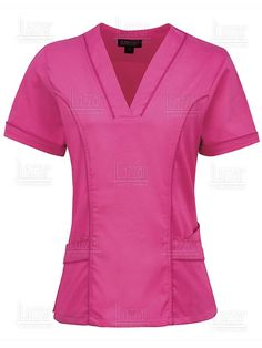 Filipina para enfermera, tres bolsas al frente, Vet Scrubs, Medical Scrubs, Scrubs Outfit, Scrubs Uniform, Dental Uniforms, Beauty Uniforms, Nurse Costume, Custom Clothes, Blouse Designs