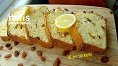 Susam Kaplamalı Sünger Kek Üzümlü Ve Limonlu