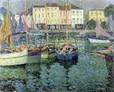 The Athenaeum - Boats (Henri Le Sidaner - No dates listed)